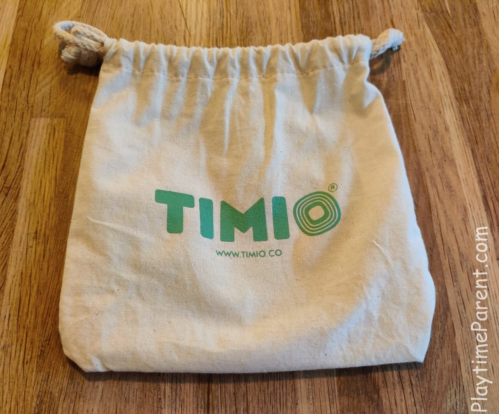 The TIMIO carry pouch front view