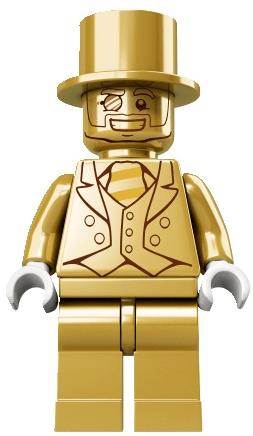 The LEGO Mr. Gold minifigure